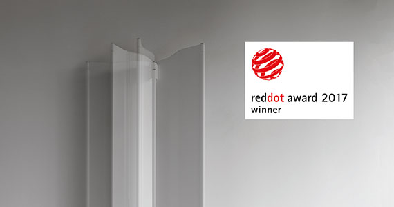 Tubes Radiatori, Origami vince il Red Dot Design Award 2017