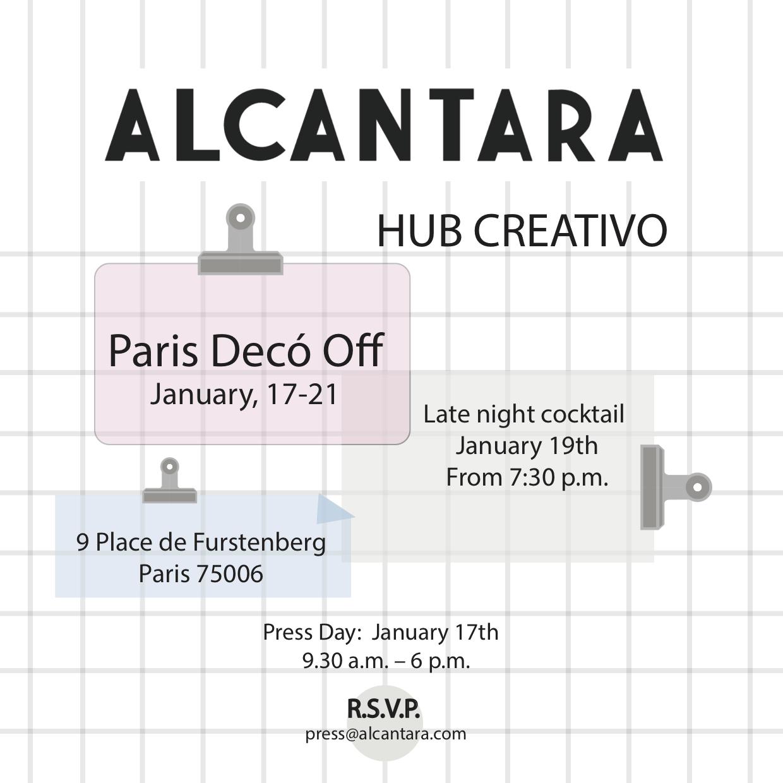 Alcantara Invitation PDO 2019