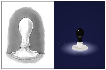 FOSCARINI | White & Black Light di James Wines